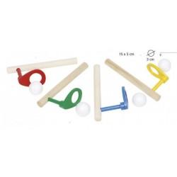 Dmuchnij piłeczkę - zabawka logopedyczna