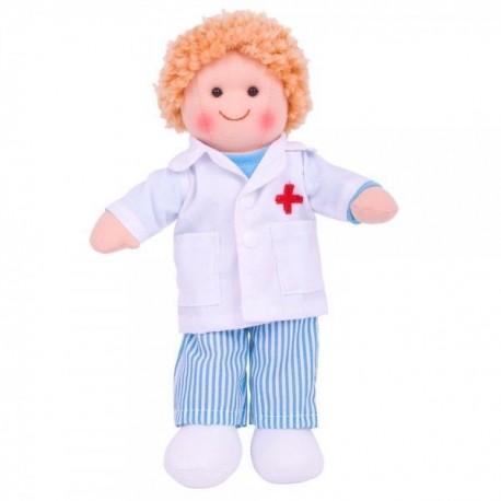 Lalka szmaciana doktor Adaś
