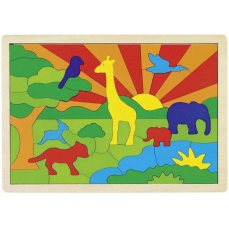 Goki układanka Safari