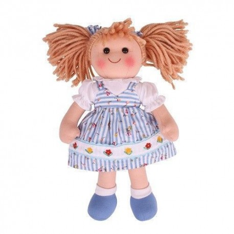 Duża lalka szmaciana Krystyna 38cm