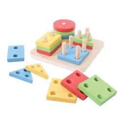 Bigjigs układanka kształty i kolory