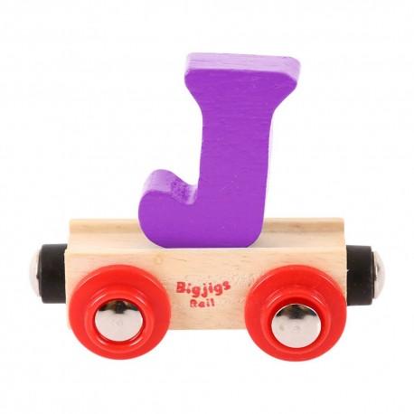 Wagonik literka J