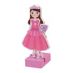 Magnetyczna ubieranka - Dziewczynka