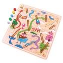 Klasyczna drewniana gra Węże i drabiny