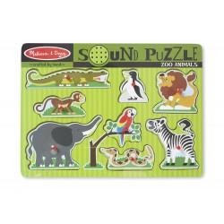 Puzzle dźwiękowe - Zoo