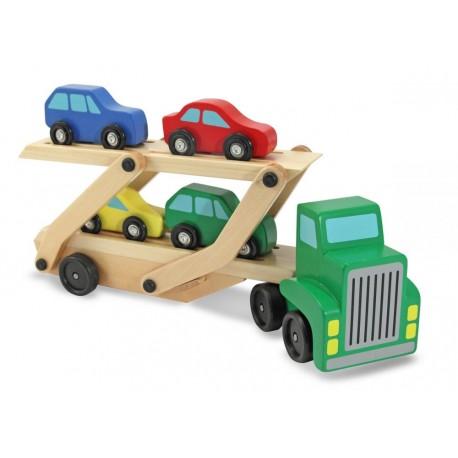 Ciężarówka z lawetą