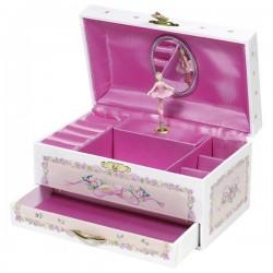 Goki pudełko z szufladkami baletnica