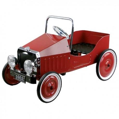 Samochód czerwony na pedały