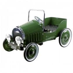 Samochód zielony na pedały GOKI