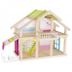 Drewniany domek dla lalek Susibelle 2 piętra