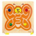 Tablica manipulacyjna - panel na ścianę Motylek