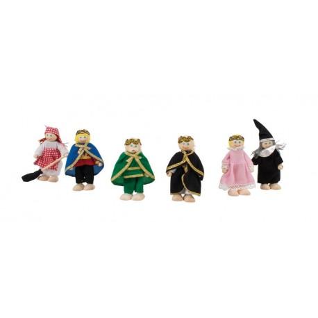 Zestaw lalek - Rodzina królewska