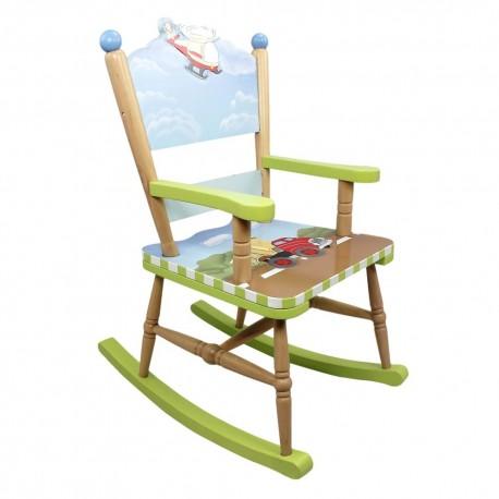 Fotel na biegunach Transport W-9943A
