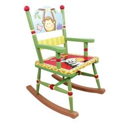 Fotel na biegunach Słoneczne safari W-8266A