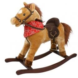 Koń na biegunach interaktywny Kasztanek dźwięk+ruch
