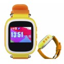 Wodoodporny zegarek lokalizacyjny z GPS IP 67 KIDDO MIZU żółty