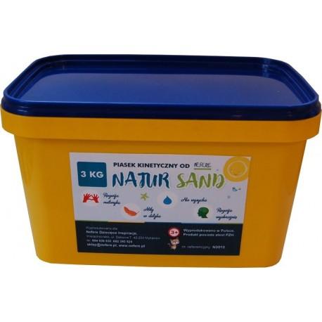Piasek kinetyczny 3 kg NaturSand - polski piasek