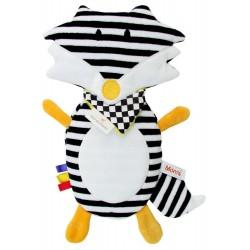 Termofor dla dziecka - Termofoxi Lisek czarno-biały
