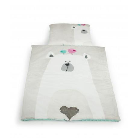 Zestaw kocyk i poduszka BATMAN z polaru Minky