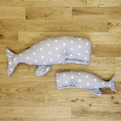 Poduszka wieloryb Bajkowe królestwo mała