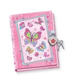 Pamiętnik świecący w ciemności Motyle