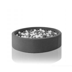Suchy basen dla dzieci z piłeczkami 115x30 okrągły 400 szt. piłek