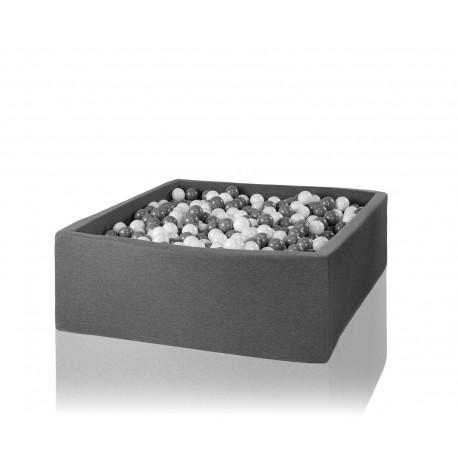 Suchy basen z piłeczkami 130x130x40 kwadratowy 600 szt. piłek