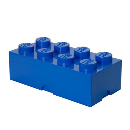 Pojemnik w kształcie klocka LEGO 8 - czerwony