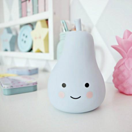 Lampka dla dziecka gruszka - różowa