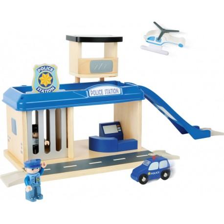 Posterunek policji zestaw z akcesoriami