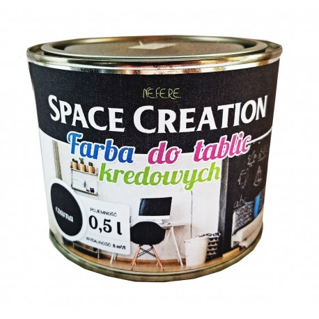 Farba tablicowa CZARNA Space Creation 0,5l