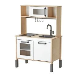 Drewniana kuchnia DUKTIG Ikea