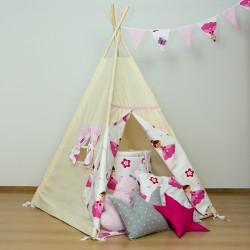 Namiot tipi dla dziecka Princess - zestaw mini