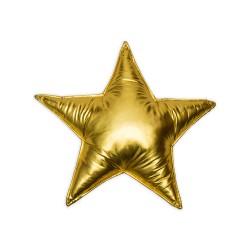 Poduszka gwiazdka - złota