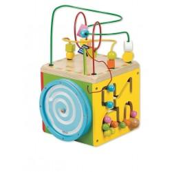Kolorowa kostka aktywności - centrum edukacyjne