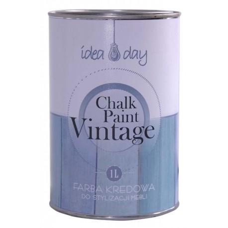 Farba kredowa Chalk Paint IdeaDay - biała 1 litr