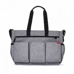 Skip Hop - Torba Double Signature Heather Grey