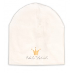Elodie Details - czapka Vanilla White, 12-24 m-ce