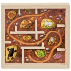 Gra zręcznościowa labirynt pod ziemią