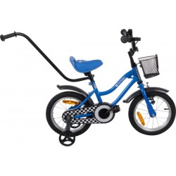 Rowerek BMX dla dziecka 14 cali - gwiazdka niebieski