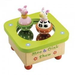Pozytywka dla dzieci Krówka i świnka