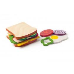 Kanapka - zestaw śniadaniowy - zrób własną kanapkę