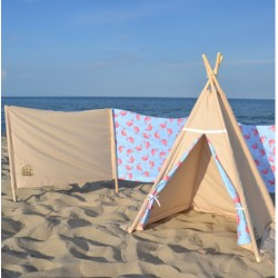 Parawan plażowy Marynarski sen