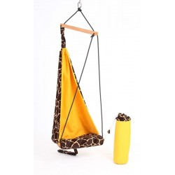 Bujany fotel dla dzieci żyrafa