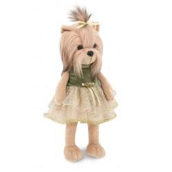 Piesek Lucky Yoyo Księżniczka w zielonej sukience