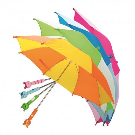 Parasolka z drewnianym uchwytem