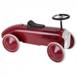 Jeździk wyścigowy czerwony Chrome