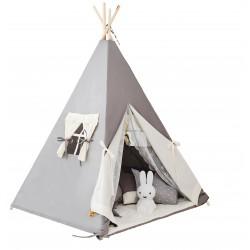 Namiot tipi dla dziecka Podniebny Beż - zestaw