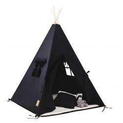 Namiot tipi dla dziecka Classic Black - zestaw