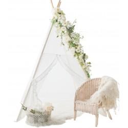 Namiot tipi dla dziecka Koronkowe Natchnienie - zestaw mini